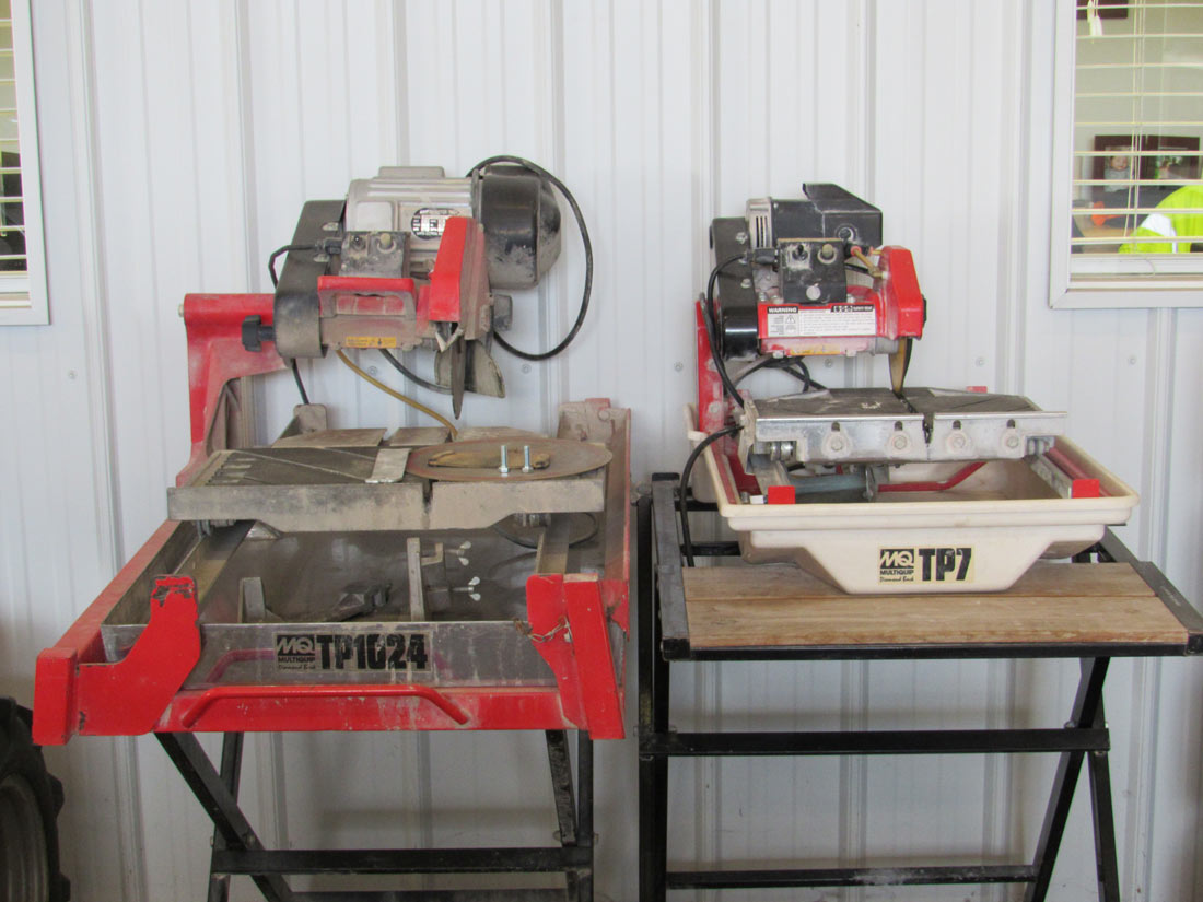 Tile Saw 7 In Guard Westmoreland Equipment